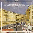 CPO777 905-2. British Clarinet Quintets