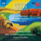 8 573791. British Violin Concertos
