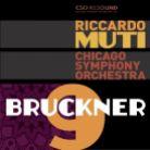 CSOR901 1701. BRUCKNER Symphony No 9 (Muti)
