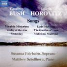 8 571378. G BUSH; HOROVITZ Songs