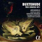 ALPHA367. BUXTEHUDE Trio Sonatas