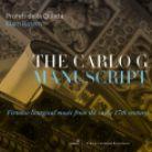 GCD922516. The Carlo G Manuscript