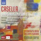 8 573748. CASELLA Divertimento per Fulvia GHEDINI Concerto Grosso