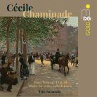 MDG303 2002-2. CHAMINADE Piano Trios