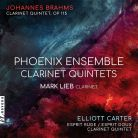 NV6193. BRAHMS; CARTER Clarinet Quintets