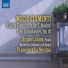 8 573273. CLEMENTI Piano Concerto No 3. Symphonies Nos 1 & 2