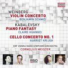 C5310. KABALEVSKY; WEINBERG Concertos