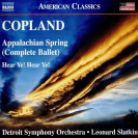 8 559806. COPLAND Appalachian Spring. Hear Ye! Hear Ye!