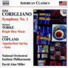 8 559782. CORIGLIANO Symphony No 1 COPLAND Appalachian Spring