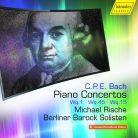 CDHC17034. CPE BACH Piano Concertos WQ1, 45 & 15