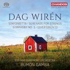 CHSA5194. WIRÉN Symphony No 3. Serenade. Sinfonietta