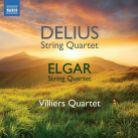 8 573586. DELIUS; ELGAR String Quartets