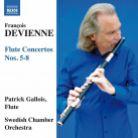8 573464. DEVIENNE Flute Concertos Nos 5 - 8