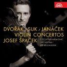 SU4182-2. DVOŘÁK; SUK; JANÁČEK Violin Concertos