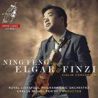 CCS40218. ELGAR; FINZI Violin Concertos (Ning Feng)