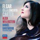 Elgar; Carter Cello Concertos