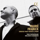 ALPHA271. FAURÉ; FRANCK Violin Sonatas