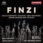 CHSA5214. FINZI Cello Concerto (Paul Watkins)