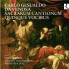 RIC343. GESUALDO Sacrarum Cantionum