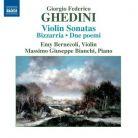 8 572828 GHEDINI Complete Music for Violin and Piano