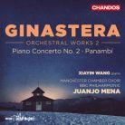 CHAN10923. GINASTERA Piano Concerto No 2. Panambí