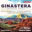 CHAN10949. GINASTERA Orchestral Works Vol 3 (Mena)