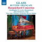 8 573146. GLASS; FRANÇAIX Harpsichord Concertos. Christopher D Lewis
