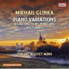 C5285. GLINKA Piano Variations. Nocturnes. A Greeting to my Homeland