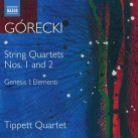 8 573919. GÓRECKI String Quartets Nos 1 & 2 (Tippett Quartet)