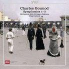 CPO777 8632. GOUNOD Symphonies Nos 1-3