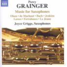 8 573228. GRAINGER Music for Saxophones
