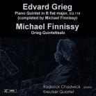 MSV28541. GRIEG Piano Quintet FINNISSY Grieg Quintettsatz