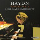 BRIDGE9497. HAYDN Piano Sonatas Vol 2 (McDermott)