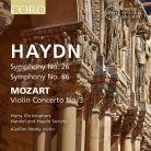COR16158. HAYDN Symphonies Nos 26 & 86 MOZART Violin Concerto No 3