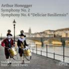 SOB05. HONEGGER Symphonies Nos 2 & 4