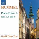 8 573261. HUMMEL Piano Trios Nos 1, 4 & 5