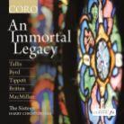 COR16111. An Immortal Legacy. Sixteen/Harry Christophers