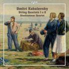 CPO555 006-2. KABALEVSKY String Quartets 1 & 2