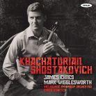 ONYX4121. KHACHATURIAN Violin Concerto SHOSTAKOVICH String Quartets 7 & 8