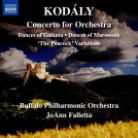 8 573838. KODÁLY Concerto for Orchestra. Variations on a Hungarian Folk Song