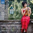 8 573067. LALO Symphonie espagnole MANÉN Concierto espagnol