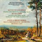 CC9046CD. LEIGHTON Piano Cncerto No 1 GIPPS Piano Concerto