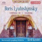 CHSA5233. LYATOSHYNSKY Symphony No 3, 'Peace Shall Defeat War'