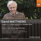 TOCC0318. D MATTHEWS Complete String Quartets Vol 4