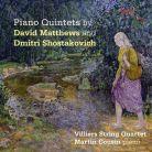 SOMMCD0157. MATTHEWS. SHOSTAKOVICH Piano Quintets