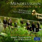 C914 161A. MENDELSSOHN Symphonies Nos 1 & 4 WIDMANN ad absurdum