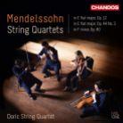 CHAN20122(2). MENDELSSOHN String Quartets Vol 1 (Doric Quartet)