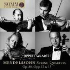 SOMMCD0182. MENDELSSOHN String Quartets (Tippett Quartet)