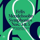 PTC5186 611. MENDELSSOHN Symphonies Nos 4 & 5 (Manze)