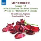 8 573696. MEYERBEER Songs Vol 2